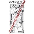 Kit Elastique CLASS OF 1812 'Gottlieb 1991