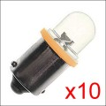 Ampoule LED: GE44 ORANGE x10