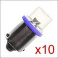 Ampoule LED: GE44 BLEUE CONCAVE x10