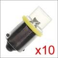 Ampoule LED: GE44 JAUNE CONCAVE x10