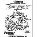 Manuel Flipper: STREET FIGHTER 2 'Gottlieb 1993