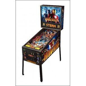flipper d 39 occasion iron man 39 stern 2010 anim 39 jeux. Black Bedroom Furniture Sets. Home Design Ideas