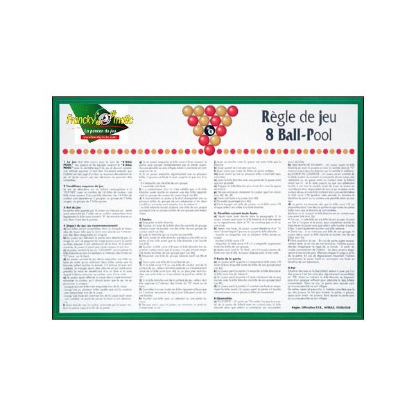 billard 8 pool regle
