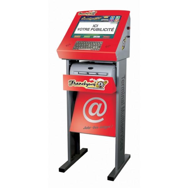 Terminal multiservices franckysurf anim 39 jeux - Prix des frais de port ...