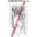Kit Elastique CORVETTE 'Bally 1994