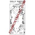 Kit Elastique DOLLY PARTON 'Bally 1979