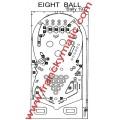 Kit Elastique EIGHT BALL 'Bally 1977
