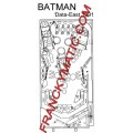 Kit Elastique BATMAN 'Data East 1991