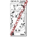 Kit Elastique DEVIL'S DARE 'Gottlieb 1982