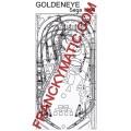 Kit Elastique GOLDENEYE 'SEGA 1996
