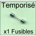 Fusible 5x20/250V: TEMPO 1,6Amp x1