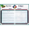 Affiche Règles de jeu: 9 BALL (42x30cm)