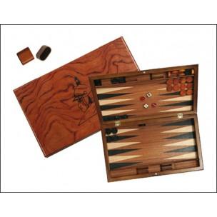 Backgammon: Bois de voyage (22x28.cm)